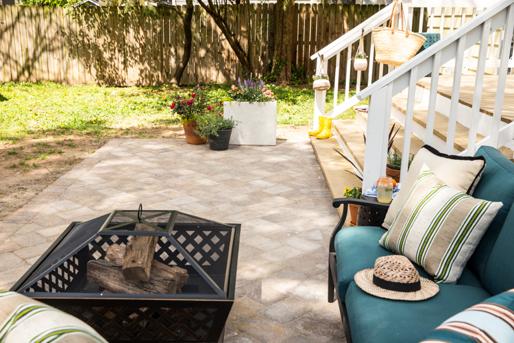 Follow along as Miranda of Live Free Creative Co. transforms her neglected backyard by installing a DIY paver patio with the help of The Home Depot.