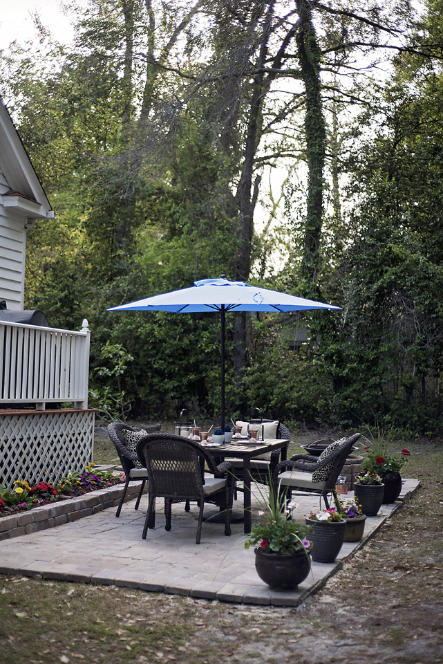 Follow along as Michiel Perry of Black Southern Belle creates a paver patio perfect for entertaining friends and family day or night.